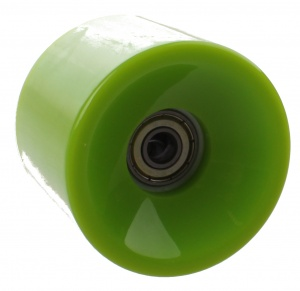 Johntoy Urban District Longboard wheels 65 x 51 mm 82A green