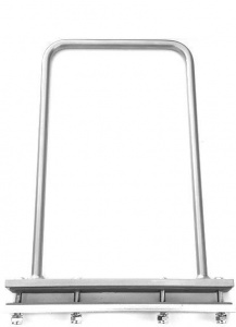 Jokapi bag handle luggage carrier steel 25 cm silver