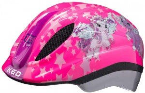 KED bicycle Meggy II Originalshelmet girls pink