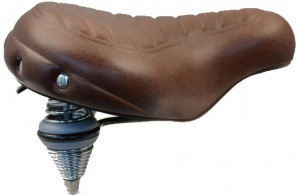 Knus Saddle Supreme Wave unisex dark brown