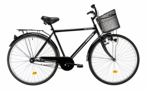 Kreativ City Man 28 Inch 52 cm Men Coaster Brake Black
