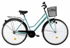 Kreativ City Women 28 Inch 50 cm Woman Coaster Brake Turquoise