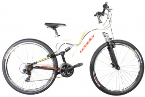 Leader Energy 29 Inch 61 cm Heren 21V V-Brake Wit
