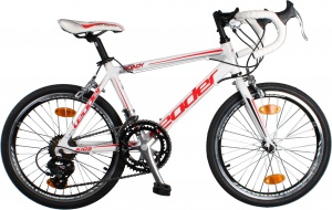 Leader Roady 20 Inch Boys 14SP Rim Brakes White