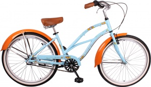 Leader Sandy 26 Inch Woman 3SP Coaster Brake Light blue