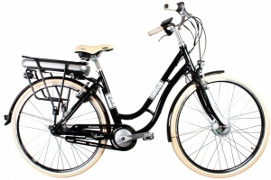 Leader Traveler 28 Inch Dames 7V V-Brake Zwart