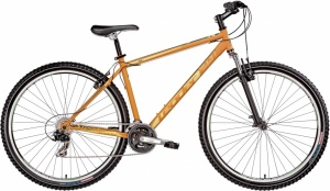 Leader Twenty9er 29 Inch Heren 21V V-Brake Oranje