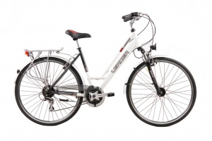 Leader Urbano 28 Inch 48 cm Dames 24V V-Brake Wit