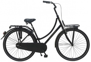 Little Diva omafiets 28 Inch Woman Coaster Brake Black