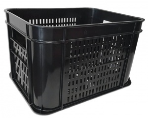 Lynx bicycle crate plastic 30 litres black