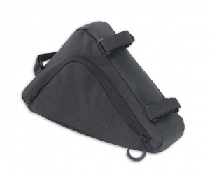 Lynx frame bag Smoky polyester 1.5 litres black