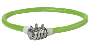 M-Wave Cable digit combination 500 x 12 mm green