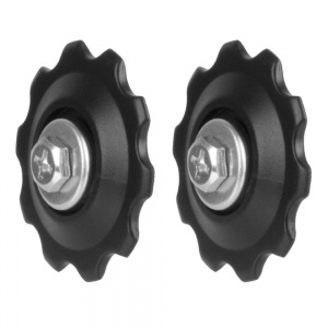 M-Wave derailleur wheels standard 5-10 speed black 2 pieces