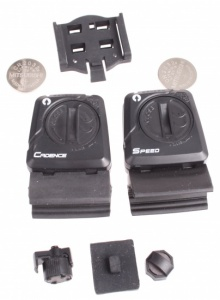 M-Wave Additional / replacement set of sensors black