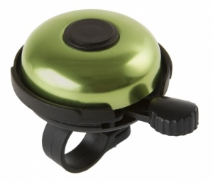 M-Wave Bicycle bell Aluminum 53 mm Black With Green
