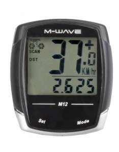 M-Wave Cycling 12 Black Features
