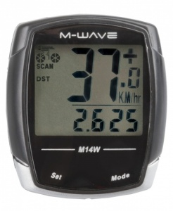 M-Wave Cycling 14 Black Features
