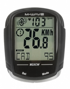 M-Wave Cycling 23 Black Features