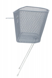 M-Wave bike basket 26-28 inch for 19 liters of silver