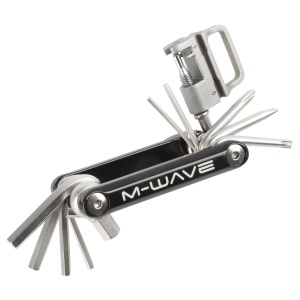 M-Wave multitool Little 15 functions 8 cm black