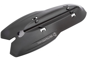 M-Wave spatbord Mud Max DT 320 mm zwart