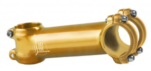 M-Wave stem front fixed 28.57/110/31.8 mm 7° gold