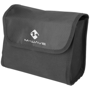 M-Wave stuurtas Utrecht Travel Eco 3,5 liter zwart/wit