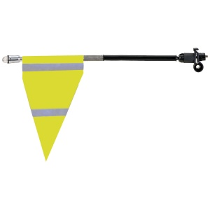M-Wave safety flag yellow 20 cm