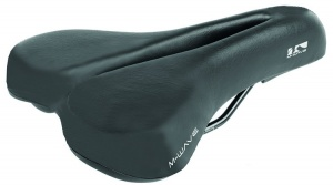 M-Wave Tour Saddle II Black Silver