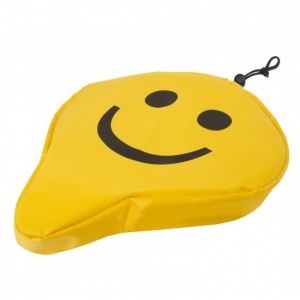 M-Wave Zadeldek Smiley universeel 250 x 230 mm geel