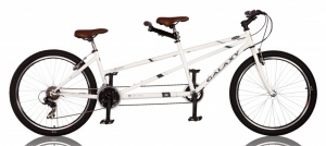 Mahin Galaxy 26 Inch Heren 21V V-Brake Wit
