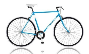 MBM I AM Fixed 28 Inch Heren V-Brake Blauw