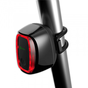 Meilan rear light with brake light X6 USB black