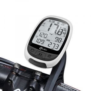 Meilan bike computer GPS M2266 grams 2.4 inch white/black