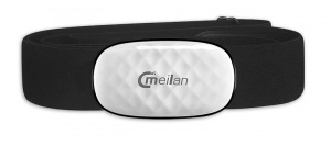 Meilan heart rate monitor Bluetooth black one size