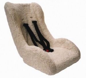 Melia insert chair S1002 5-point harness sheep 75 cm white