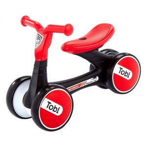 Milly Mally loopfiets Ride On Tobi 6,5 Inch Junior Rood/Zwart