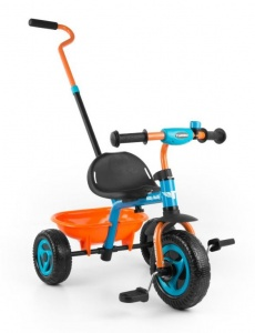 Milly Mally Turbo driewieler Junior Orange/Bleu