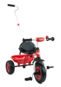 Milly Mally Turbo driewieler Junior Red/Black