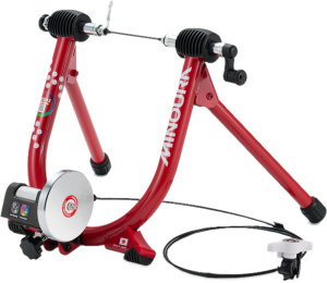 Minoura bicycle trainer Liveride LR341 61 x 42 cm steel red