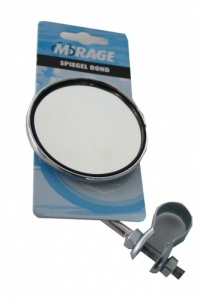 Mirage Round Adjustable Chrome Mirror Each