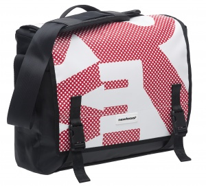 New Looxs pakaftas Postino Office 14 liter rood/wit