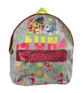db8be80e612bb4 Nickelodeon rugzak Paw Patrol Fun meisjes 6 liter grijs/roze