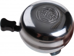 Niet Verkeerd bicycle bell 45 mm chrome