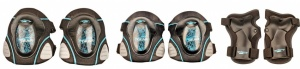Nijdam Junior Protection Set Deluxe Black / Blue