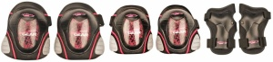 Nijdam Junior Protection Set Deluxe Black / Pink