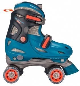 f252d8ae005 Nijdam Roller skating Disco Twirl boys turquoise