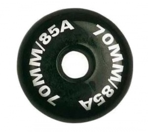 Nijdam Wheels For Inline Skates 70x24 mm Per 4 Pieces