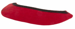 Overade Helm Stick-On Visor Rood
