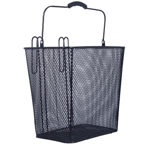 OXC bicycle basket rear 24 litres black